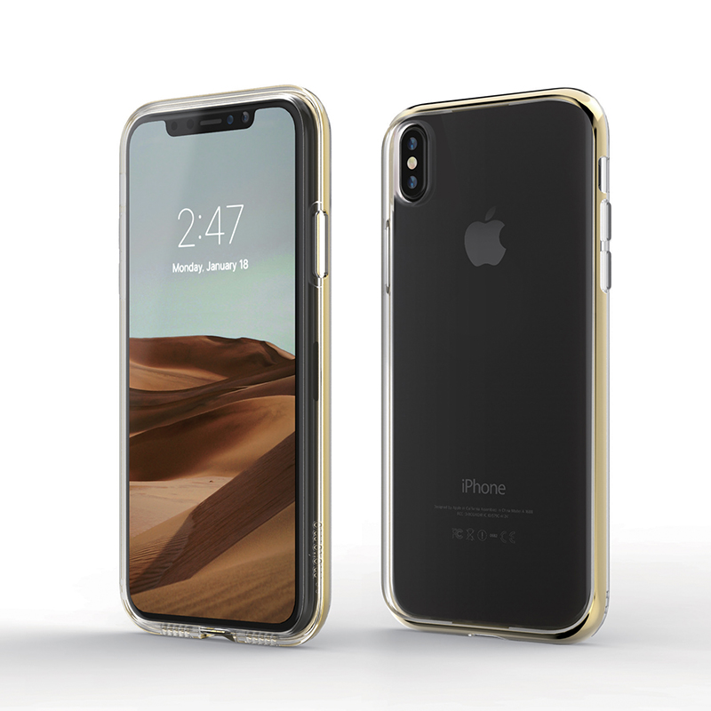 INO LINE INFINITY CLEAR CASE for iPhone XS Max