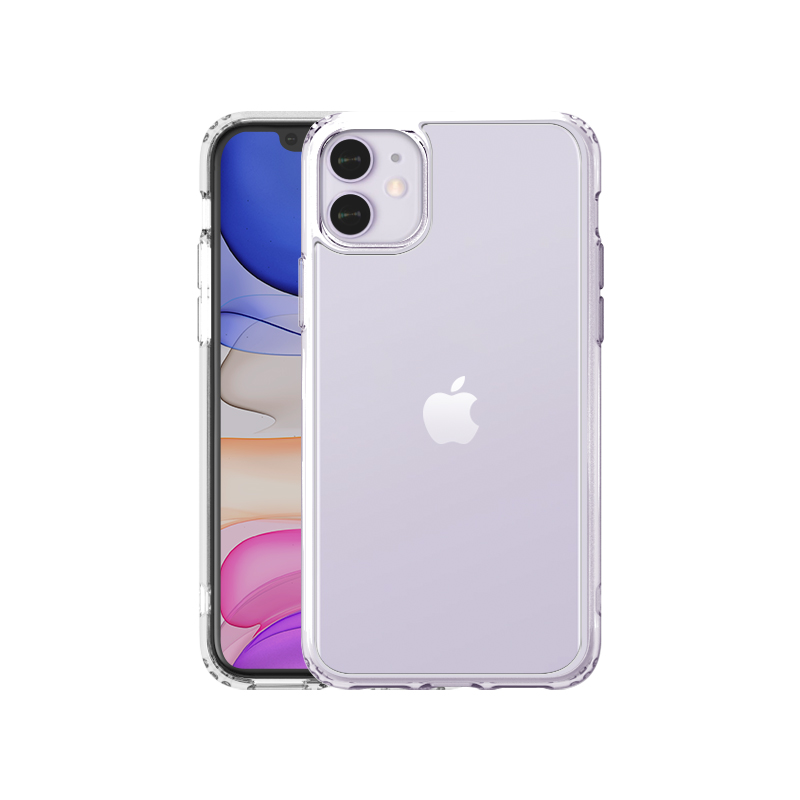 INO TEMPERED GLASS CASE for iPhone 11