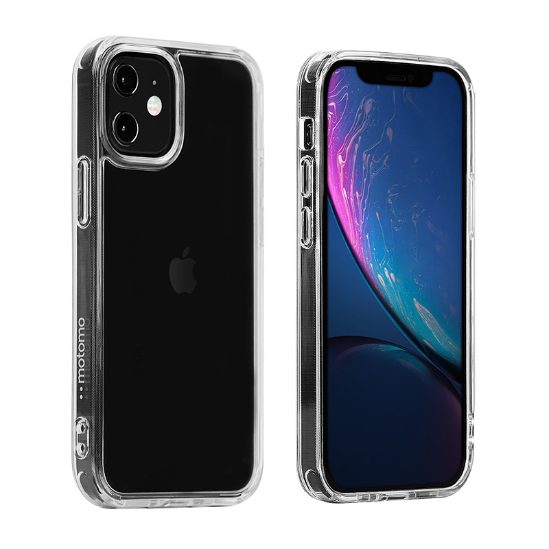 INO TEMPERED GLASS CASE for iPhone 12/12Pro/12Pro Max